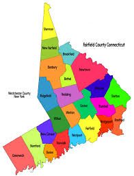 connecticut on map fairfield county map greenwich ct estate elwell