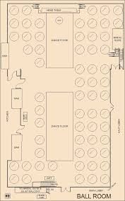 ballroom floor plan our rooms the cotillion banquets