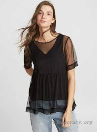 baby doll blouses mesh babydoll blouse twik casual shirts 100 authentic