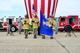 firefighters honor fallen heroes u003e joint base langley eustis