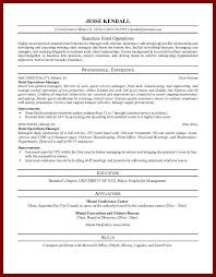 hotel job resume sample amitdhull co