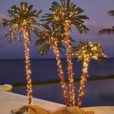 3 d pre lit palm tree outdoor lighting brylanehome