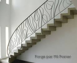 Fer Forge Stairs Design Re D Escalier En Fer Forgé Contemporaine Par Ms Poirier Fer