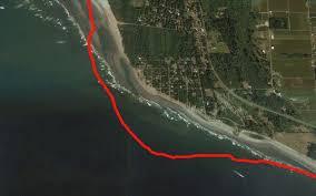 Google Maps Washington State by Coastal Erosion Washing Away Beachfront Community In Washington
