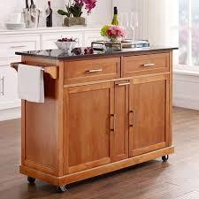 kitchen islands with granite top northcrest kitchen cart shopko