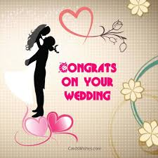 congrats wedding card wedding wishes for niece cards wishes