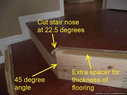 Laminate Flooring Thickness Installing Laminate On Angled Stairs