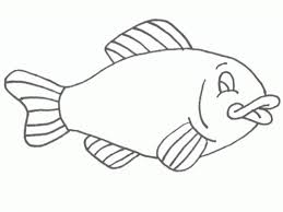 free printable fish coloring pages for kids within coloring pages