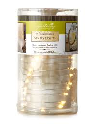 Apothecary Home Decor by Apothecary Led White String Lights Stage Stores