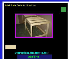 model train table building plans 074635 woodworking plans and