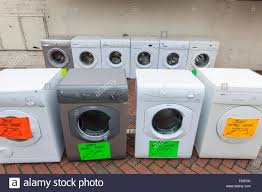 second washing machines and previously used tumble dryers for