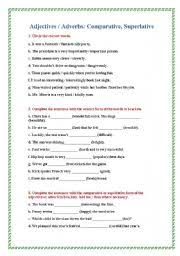 english teaching worksheets adjective or adverb