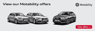 audi motability cars audi motability offers and mobility price list robinsons audi