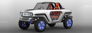 electric utility vehicles e survivor electric concept is a futuristic compact suv