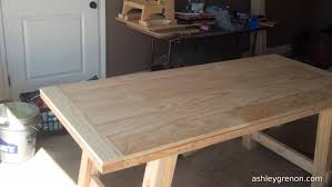 Dining Room Table Plans by Diy Benchwright Farmhouse Table Plans By Ana White Handmade
