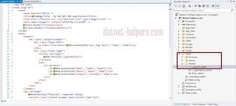 layout view helper different ways of rendering layout in mvc dotnet helpers
