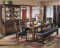 ashley furniture dining table set the ashley furniture dining table with bench home hold design
