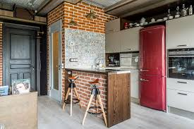Industrial Kitchens Design 50 Trendy And Timeless Kitchens With Beautiful Brick Walls