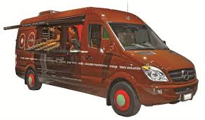 mercedes work truck sprinkles delivers high end cupcakes with mercedes sprinter