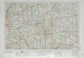 Map Of Belleville Illinois by Belleville Topographic Maps Il Usgs Topo Quad 38088a1 At 1