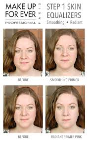 make up for ever step 1 skin equalizers smoothing and radiant
