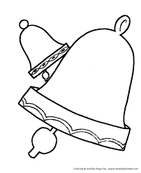 simple shapes coloring pages free printable simple shapes bells