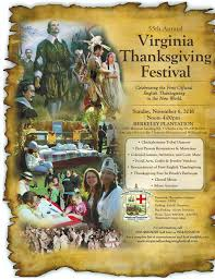 55th annual virginia thanksgiving festival at berkeley plantation