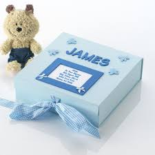 baptism memory box personalised baptism memory box the gift experience
