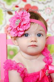 toddler headbands bright pink baby headband infant headband toddler headband