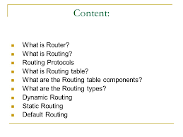 what is routing table ip routing content what is router what is routing routing