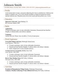Best One Page Resume Format by Resume Template 41 Html5 Templates Free Samples Examples Format