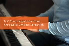 2 5 1 chord progressions to end your favorite christmas songs with