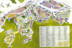 Disney World Google Map by Celebration Florida Google Search Disney Does Urban Planning