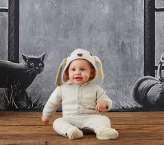 Halloween Costumes Babies 0 6 Months Baby Knit Puppy Costume Pottery Barn Kids