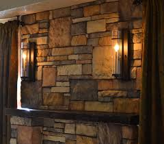 sconces for my updated farmhouse rustic fireplace u2013 front porch cozy