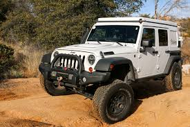 white linex jeep featured vehicle at overland jeep jk u2013 expedition portal