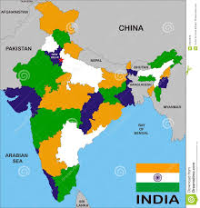 Indian Map India Map Royalty Free Stock Photos Image 12015678