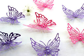 Purple Butterfly Decorations Delightful Design Of Decorative Wall Art Tags Fantastic