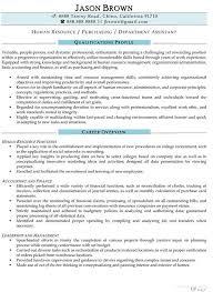 hr assistant resume resume sample