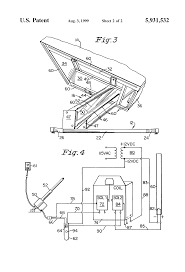 patent us5931532 lift recliner chair with safety system google