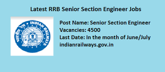 civil engineering jobs in india salary tax rrb sse recruitment 2018 apply for 4500 sr section engineer jobs