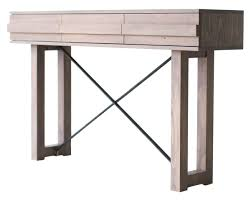 console table weathered gray 0617 contemporary