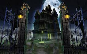 halloween 4k background halloween castle wallpaper images reverse search