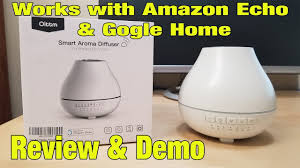 Amazon Oil Diffuser by Oittm Smart Aroma Essential Oil Diffuser Review U0026 Demo Youtube