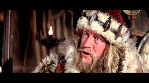 great scene with max von sydow as king osric in conan the