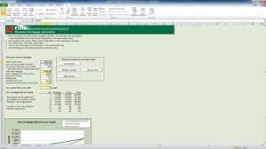 Mortgage Calculator In Excel Template Mortgage Calculator Mortgage Spreadsheet