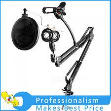 bureau d enregistrement réglable bureau d enregistrement microphone suspension boom ciseaux