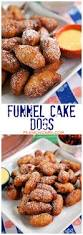 funnel cake dogs recipe great for tailgating little smokies