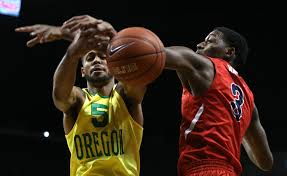 lexus of fresno basketball oregon men go 6 0 with win over fresno state kcby