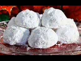 easy christmas snowballs pecan balls mexican wedding cookies